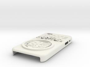 Vote Gunther iPhone Case in White Natural Versatile Plastic