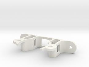 Stepper motor support 1 in White Natural Versatile Plastic