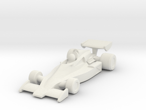 Penske PC4 HO scale in White Natural Versatile Plastic