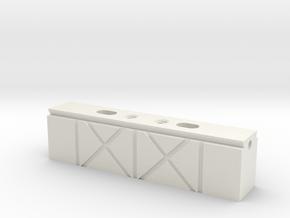 Circuit Board Magnetic Mount Rail Vise in White Natural Versatile Plastic