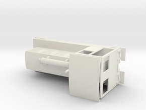 44 Ton Assembly Full Print in White Natural Versatile Plastic