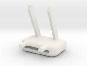 IPhone Desk Stand in White Natural Versatile Plastic