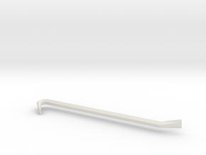 Crowbar in White Natural Versatile Plastic
