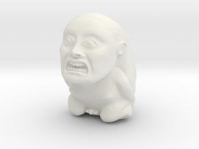 Fertility Idol in White Natural Versatile Plastic