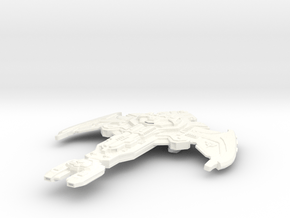 Na'tawk Battle Ship in White Processed Versatile Plastic