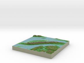 Terrafab generated model Tue Jun 03 2014 11:34:02  in Full Color Sandstone