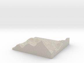 Model of Patrick in Natural Sandstone