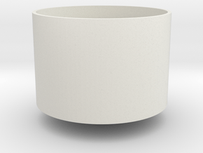 Sil8expuntitled in White Natural Versatile Plastic