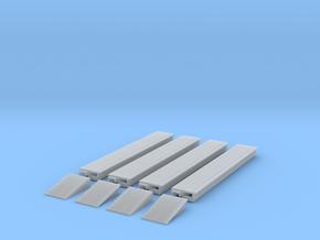 Station Platform 1 T 1:450 in Smooth Fine Detail Plastic