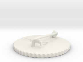 by kelecrea, engraved: Irene  in White Natural Versatile Plastic