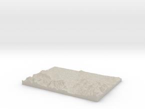 Model of Salzburg in Natural Sandstone
