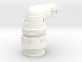 Rotational Control Plug in White Processed Versatile Plastic