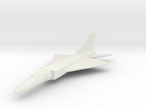 1/200 Scale Shenyang J-8  in White Natural Versatile Plastic