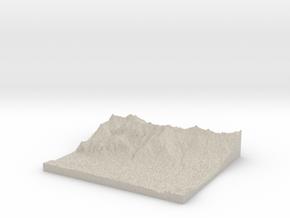 Model of Völs in Natural Sandstone