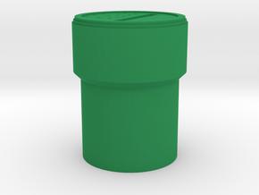 Super Mario Pipe Iphone Speaker in Green Processed Versatile Plastic