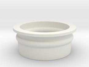 Shotgunshotglass Gasket in White Natural Versatile Plastic