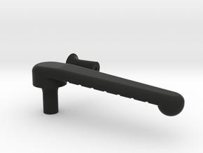 Busse Clip Low Profile in Black Natural Versatile Plastic