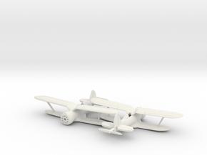 1/240 Polikarpov I-153 in White Natural Versatile Plastic