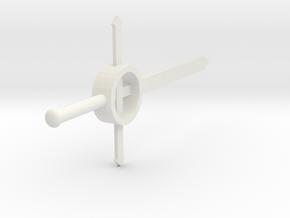 Finn's Family Demon Sword  in White Natural Versatile Plastic