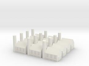 MinorFactory X12 in White Natural Versatile Plastic