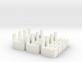 FactoryX12 in White Processed Versatile Plastic