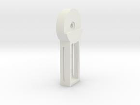 DSLR_pitch_bearing_inner in White Natural Versatile Plastic