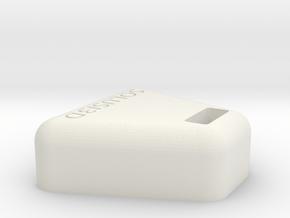 Camera Stand Rev 2 in White Natural Versatile Plastic
