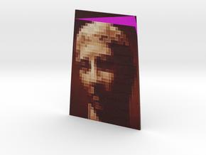 Brown Portrait twist #1 5in in Full Color Sandstone