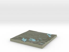 Terrafab generated model Sat May 24 2014 10:31:09  in Full Color Sandstone