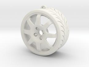"""Speedline GTZ 17"""" in White Natural Versatile Plastic"""
