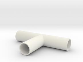 Tee 1 in White Natural Versatile Plastic