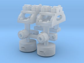 Decauville 1/32 Point Levers in Smooth Fine Detail Plastic
