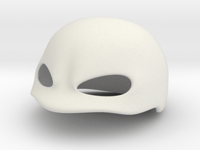 Cover Mask - In Production in White Natural Versatile Plastic