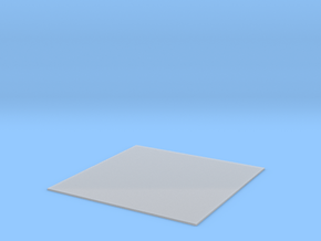 Light Plate in Smooth Fine Detail Plastic