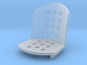 1/24 1/25 scale Bomber Seat 2 in Smooth Fine Detail Plastic