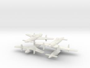 1/350 Kyushu Shinden J7W1 (x4) in White Natural Versatile Plastic