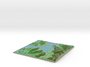 Terrafab generated model Sat May 31 2014 03:55:42  in Full Color Sandstone