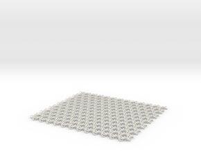 Trefoilmail-x4 in White Natural Versatile Plastic