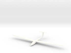 Sailplane in White Processed Versatile Plastic