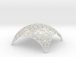 DomeStar in White Natural Versatile Plastic