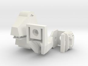 Tyrannobot Upgrade in White Natural Versatile Plastic