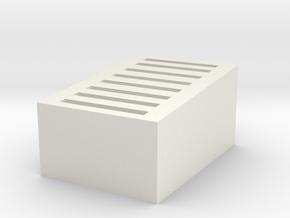 SD card holder in White Natural Versatile Plastic