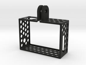 Ultralight GoPro Hero3 frame in White Natural Versatile Plastic