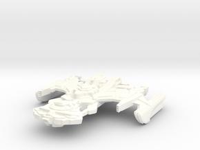 B'Rel Class Destroyer in White Processed Versatile Plastic