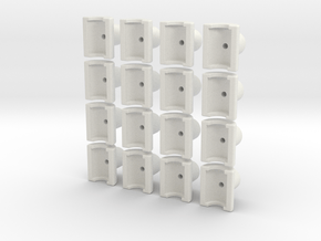 Part5 38thmagnet 116thshaft in White Natural Versatile Plastic