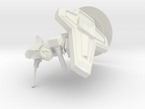 Armor Model SR-1 (updated) in White Natural Versatile Plastic