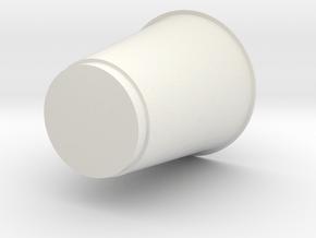 Glass in White Natural Versatile Plastic