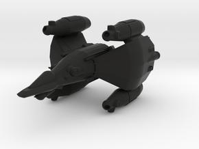 Gunstar - Starfighter in Black Natural Versatile Plastic