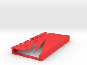 Iphone 4 Case in Red Processed Versatile Plastic