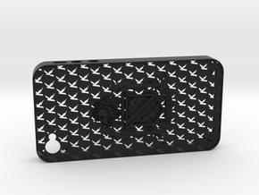 iPhone 4 Kentridge in Black Natural Versatile Plastic